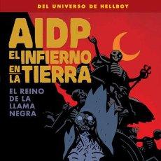 Fumetti: CÓMICS. AIDP 26. EL REINO DE LA LLAMA NEGRA - MIKE MIGNOLA/JOHN ARCUDI/JAMES HARREN/DAVE STEWART. Lote 54017890