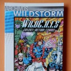 Cómics: WILDC.A.T.S. COVERT-ACTION-TEAMS. RESURRECCIÓN. Nº 01. ARCHIVOS WILDSTORM - JIM LEE Y BRANDON CHOI. Lote 54020359