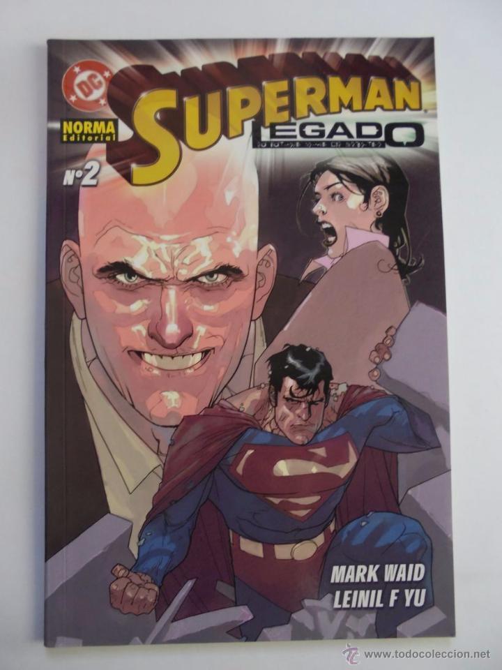 SUPERMAN LEGADO - NÚMERO 2 - NORMA - JMV (Tebeos y Comics - Norma - Comic USA)
