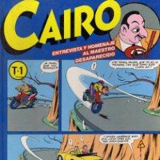 Cómics: CAIRO TOMO 1 TAPA DURA Nº 25,26 Y 27 NORMA. Lote 177721548