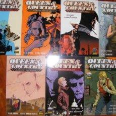 Fumetti: QUEEN & COUNTY - GREG RUCKA - 7 TOMOS (COMPLETA) - NORMA EDITORIAL. Lote 54269460