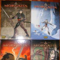 Cómics: MORGANA - ALBERTI & ENOCH - 4 TOMOS - NORMA. Lote 54274131