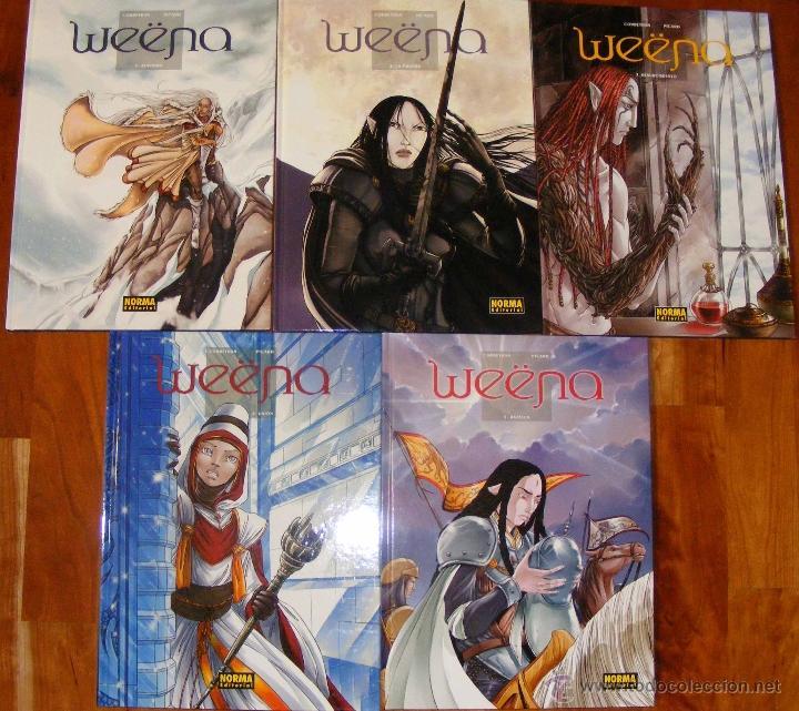 WEËNA - CORBEYRAN & PICARD - 5 TOMOS - NORMA (Tebeos y Comics - Norma - Comic Europeo)
