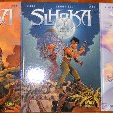 Cómics: SLHOKA - GODDERIDGE & FLOCH - 3 TOMOS - NORMA. Lote 54274161
