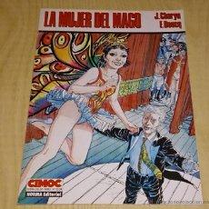 Cómics: LA MUJER DEL MAGO. J.CHARYN / F. BOUCQ. CIMOC EXTRA COLOR.. Lote 54300456