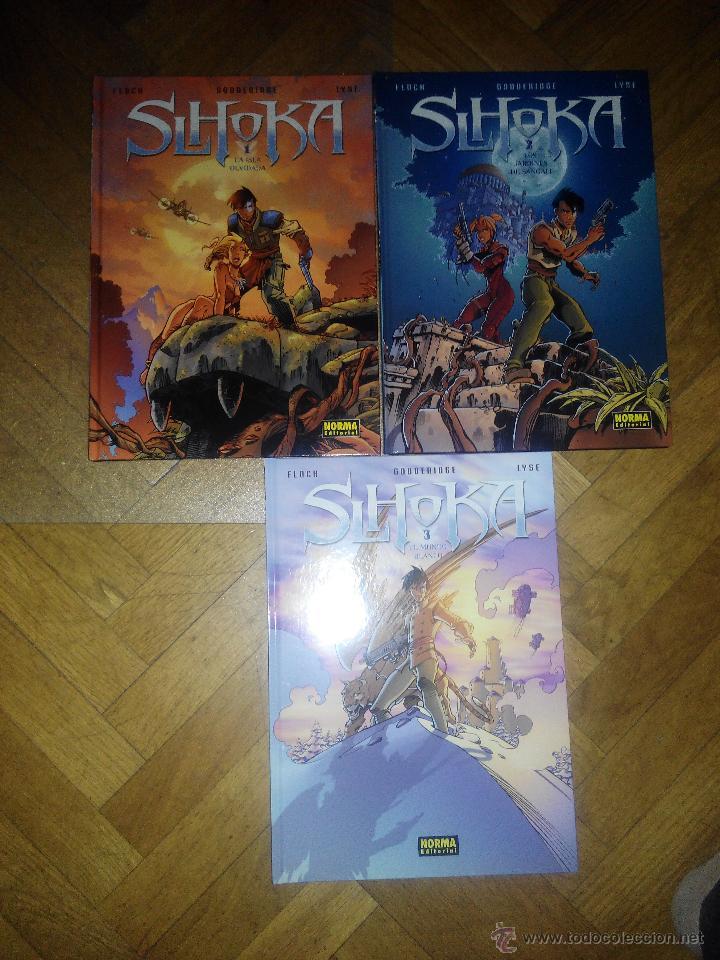 SLHOLKA COLECCION COMPLETA FORMATO MUY GRANDE 3 TOMOS NORMA (Tebeos y Comics - Norma - Otros)