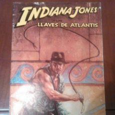 Cómics: CÓMIC INDIANA JONES Y LAS LLAVES DE ATLANTIS N'1 AÑO 1991 MEDIDAS 26×17. Lote 229588410