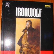 Cómics: IRONWOLF, LAS LLAMAS DE LA REVOLUCIÓN - CHAYKIN - NORMA EDITORIAL. Lote 54417580