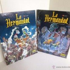 Cómics: LA HERMANDAD # 1 Y 2. COMPLETA (DRAGAN / ÓSCAR MARTIN) NORMA, 2007 OFRT ANTES 26€. Lote 98161990