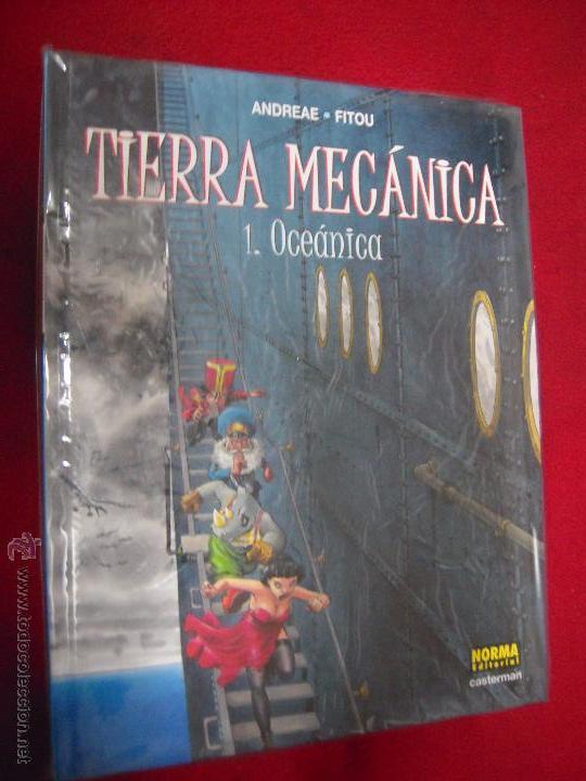 TIERRA MECANICA COLECCION COMPLETA 2 COMICS - ANDREADE & FITOU - CARTONE (Tebeos y Comics - Norma - Comic Europeo)
