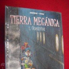 Cómics: TIERRA MECANICA COLECCION COMPLETA 2 COMICS - ANDREADE & FITOU - CARTONE. Lote 54457230