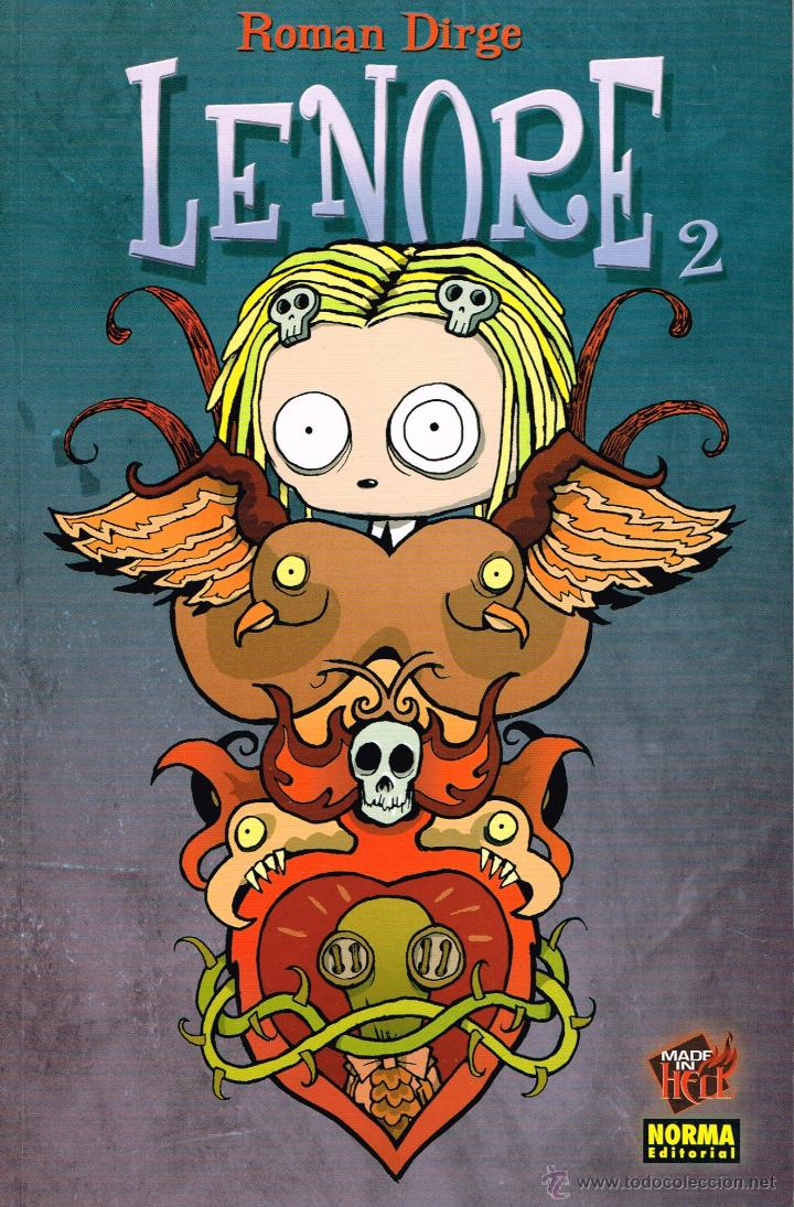 LENORE,VOL.2.COLECC.MADE IN HELL Nº 30.NORMA EDITORIAL (Tebeos y Comics - Norma - Otros)