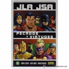 Cómics: JLA JSA PECADOS Y VIRTUDES - NORMA. Lote 58284101