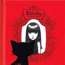 Cómics: EMILY THE STRANGE.NOVELA.LAS APARIENCIAS ENGAÑAN.NORME EDITORIAL.. Lote 54786632