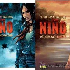 Cómics: EL NIÑO - PERRISSIN & PAVLOVIC - 2 TOMOS - NORMA. Lote 54828812