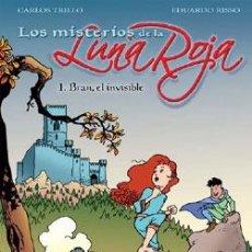 Cómics: LOS MISTERIOS DE LA LUNA ROJA - TRILLO & RISSO - 4 ÁLBUMES (COMPLETO) - NORMA. Lote 54829000