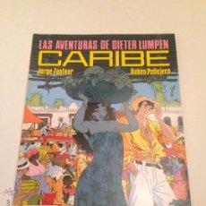 Cómics: CIMOC EXTRA COLOR Nº 65. LAS AVENTURAS DE DIETER LUMPEN. CARIBE. RUBEN PELLEJERO. NORMA 1990. Lote 54986197