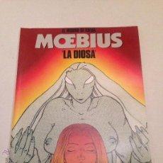 Cómics: CIMOC EXTRA COLOR Nº 76/77. EL MUNDO DE EDENA. LA DIOSA. MOEBIUS. NORMA 1991. Lote 54986634