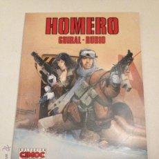 Cómics: CIMOC EXTRA COLOR Nº 90. HOMERO. FERNANDO RUBIO. NORMA 1992. Lote 54987287