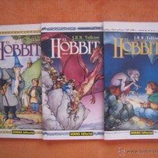 Cómics: EL HOBBIT 1, 2 Y 3 J.R.R. TOLKIEN. Lote 117699652