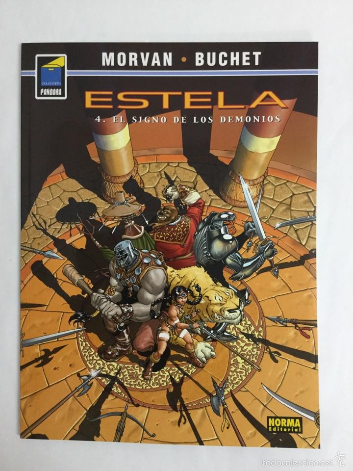 ESTELA 4: EL SIGNO DE LOS DEMONIOS (COL. PANDORA N° 97) - TAPA BLANDA - MORVAN - BUCHET - NORMA (Tebeos y Comics - Norma - Comic Europeo)