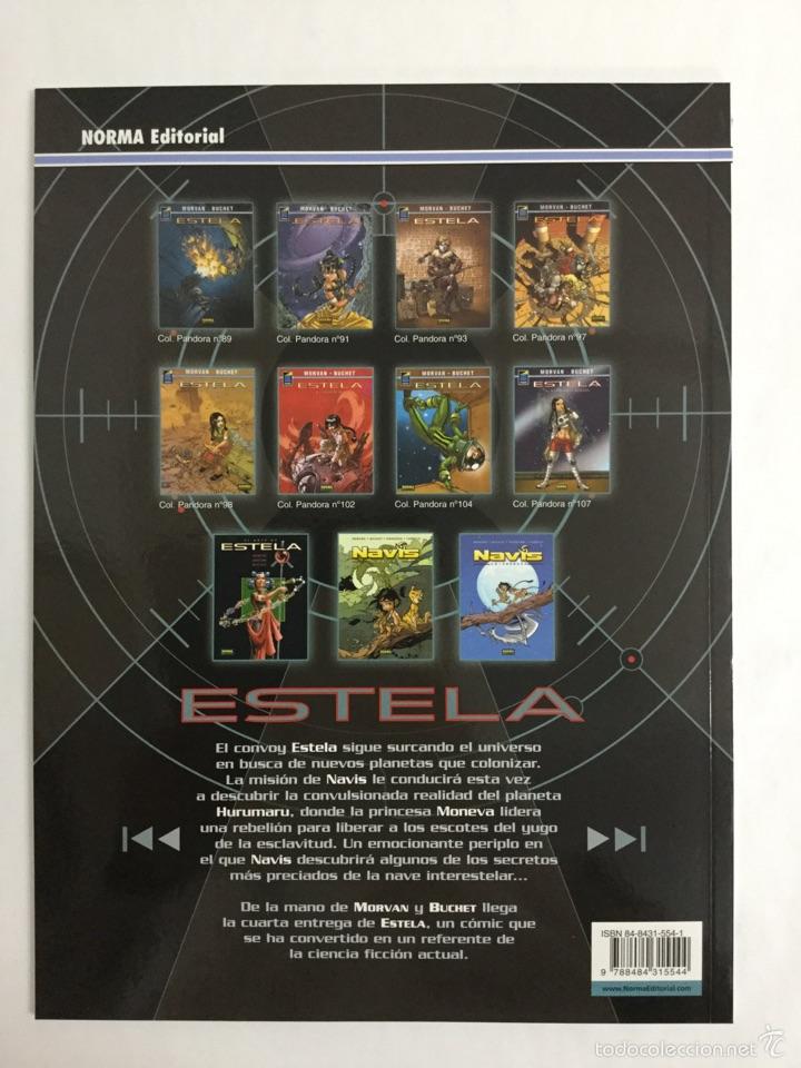Cómics: Estela 4: El Signo de los Demonios (Col. Pandora n° 97) - Tapa Blanda - Morvan - Buchet - Norma - Foto 2 - 55051539