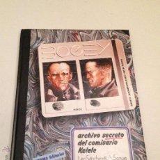 Cómics: CIMOC PRESENTA Nº 4 BOGEY ARCHIVO SECRETO DEL COMISARIO KELELE. LEOPOLDO SANCHEZ. SEGURA. NORMA 1983. Lote 55103180