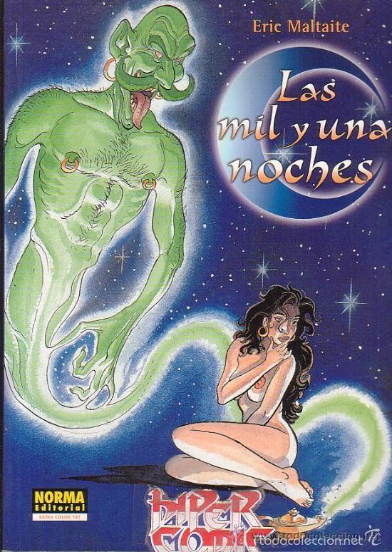 LAS MIL Y UNA NOCHES- ERIC MALTAITE - CIMOC EXTRA COLOR (Tebeos y Comics - Norma - Comic Europeo)