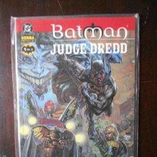 Cómics: BATMAN - JUDGE DREDD - MORIR DE RISA Nº 1 DE 2 - DC - NORMA (S1). Lote 55171987