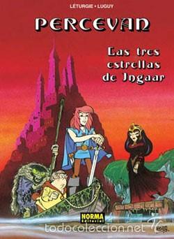 PERCEVAN - ÁLBUMES Nº 1 Y 4 - LETURGIE & LUGUY - NORMA (Tebeos y Comics - Norma - Comic Europeo)