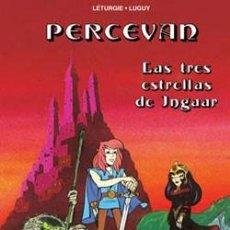 Cómics: PERCEVAN - ÁLBUMES Nº 1 Y 4 - LETURGIE & LUGUY - NORMA. Lote 168967912