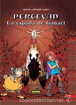 Cómics: PERCEVAN - ÁLBUMES Nº 1 y 4 - LETURGIE & LUGUY - NORMA - Foto 3 - 168967912