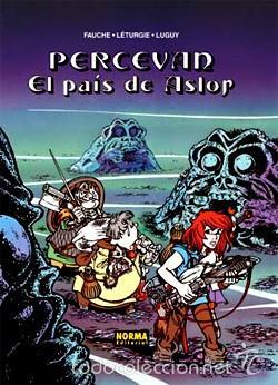 Cómics: PERCEVAN - ÁLBUMES Nº 1 y 4 - LETURGIE & LUGUY - NORMA - Foto 4 - 168967912