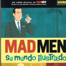 Cómics: MADMEN,SU MUNDO ILUSTRADO.NOEMA EDITORIAL.. Lote 55323392