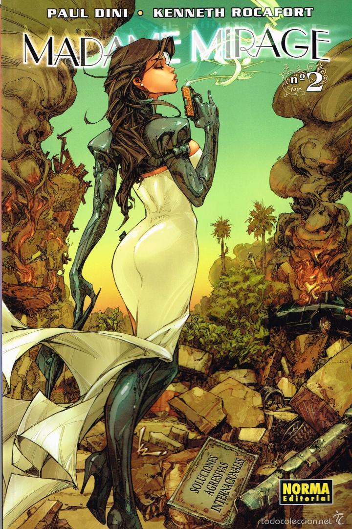 MADAME MIRAGE.VOL. 2 . NORMA EDITORIAL (Tebeos y Comics - Norma - Otros)