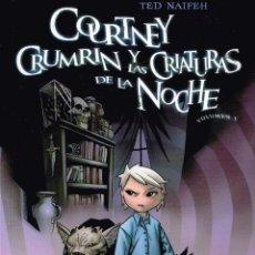 Cómics: COURTNEY CRUMRIN Y LAS CRIATURAS DE LA NOCHE.VOL.1 NORMA EDITORIAL. Lote 55325138