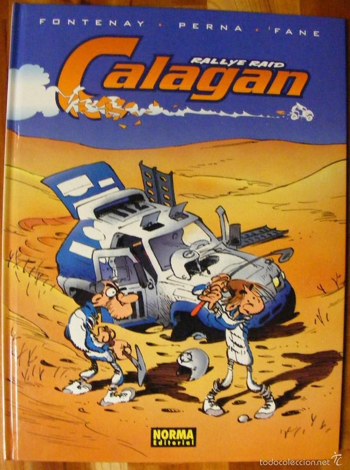 CALAGAN - FONTENAY, PERNA & FANE - NORMA (Tebeos y Comics - Norma - Comic Europeo)