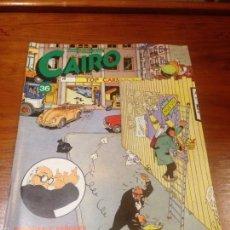 Cómics: CAIRO Nº 36. NORMA EDITORIAL 1985. FRANQUIN. MONTESOL. Lote 55371299