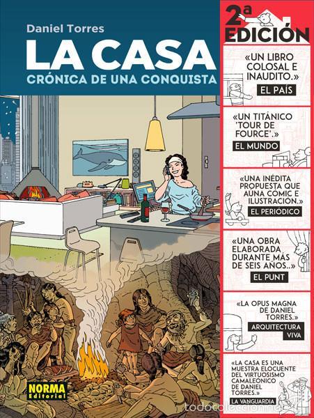 CÓMICS. LA CASA. CRÓNICA DE UNA CONQUISTA - DANIEL TORRES (CARTONÉ) (Tebeos y Comics - Norma - Comic Europeo)
