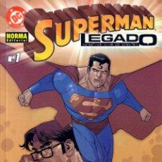 Cómics: SUPERMAN: LEGADO (COMPLETA, 3 NºS). Lote 55553217
