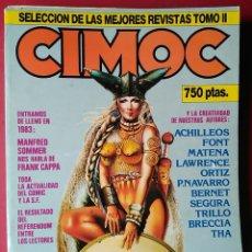 Cómics: CIMOC SELECCIÓN DE LAS MEJORES REVISTAS TOMO II . Nº 17-18-23-25-48. Lote 55806856