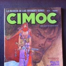 Cómics: REVISTA CIMOC Nº 27 - FONT, BERNET, BRECCIA,... - NORMA ED. MAYO 1983. Lote 55813831