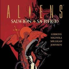 Comics - Cómics. ALIENS. SALVACIÓN + SACRIFICIO - Dave Gibbons/Mike Mignola/Peter Milligan/Paul Joh (Cartoné) - 56110447