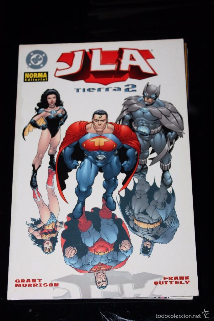 JLA TIERRA 2 NORMA (Tebeos y Comics - Norma - Comic USA)
