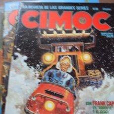 Cómics: CIMOC Nº 27, 28, 31, 33. 35, NORMA, 1981. Lote 56229102