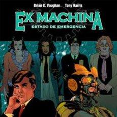 Cómics: EX MACHINA #01: ESTADO DE EMERGENCIA. Lote 56241627