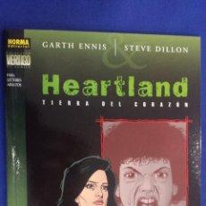 Comics : HEARTLAND TIERRA DEL CORAZÓN - GARTH ENNIS / STEVE DILLON - COLECCIÓN VERTIGO Nº 135 - NORMA. Lote 56271553