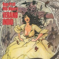 Cómics: VERANO INDIO (HUGO PRATT / MILO MANARA) CIMOC EXTRA COLOR Nº 19/20/21 - NORMA. Lote 56496019