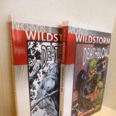 Cómics: ARCHIVOS WILDSTORM: DEATHBLOW # 01 Y 02. COMPLETA (JIM LEE, TIM SALE, ETC) NORMA, 2009-2011 OFRT . Lote 98177863