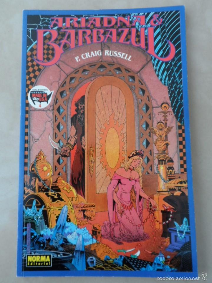 ARIADNA & BARBAZUL - POSIBLE ENVÍO GRATIS - NORMA - MADE IN THE USA Nº4 - P.CRAIG RUSSELL (Tebeos y Comics - Norma - Comic USA)
